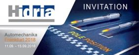 Automechanika 2018: LA SFIDA DI HIDRIA