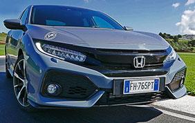 Honda Civic Sport+: bassa cilindrata, alte prestazioni