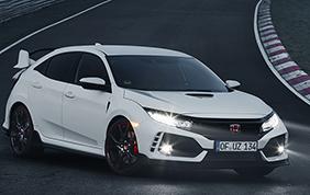 La nuova Honda Civic Type R eletta da Top Gear come Car of the Year