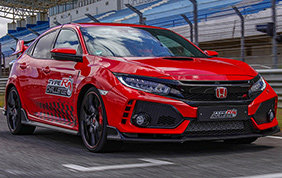 Nuovo record per la Honda Civic Type R