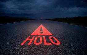 Holo, il primo triangolo stradale olografico al mondo