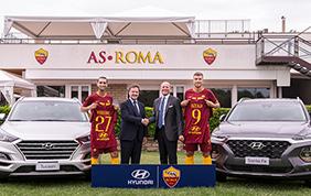 Hyundai nuovo main sponsor AS Roma