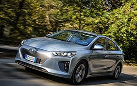 Hyundai Ioniq EV eletta auto più efficiente d'Europa