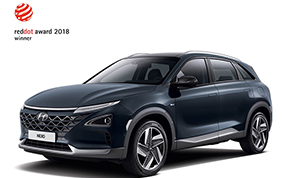 Hyundai Kona e Nexo conquistano il Red Dot Design Awards 2018