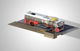 L'autobus del futuro? Ibrido-elettrico con ricarica wireless