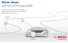 Con Bosch il pedale del gas diventa intelligente e sicuro