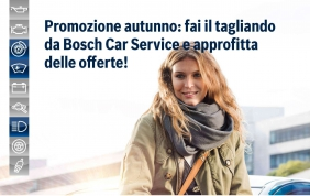 Autoricambi Bosch: il tagliando che conviene