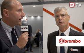 Stand Brembo: parla Marco Moretti, direttore marketing