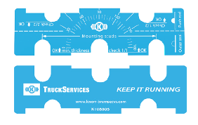 Calibro TruckServices per la manutenzione dell'attuatore