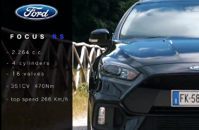 CARRUMBLE presenta: FORD FOCUS RS