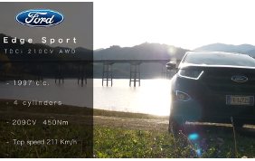 CARRUMBLE presenta: Ford Edge Sport