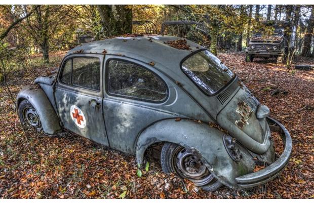 In Belgio il cimitero delle automobili non è uno scasso
