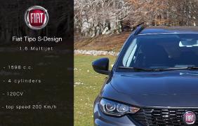 CARRUMBLE presenta: Fiat Tipo S-Design