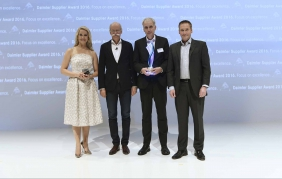 Al Multibeam Led di Hella il Daimler Supplier Award 2016