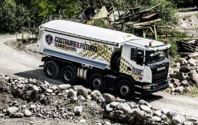 """Parte """"Costruire il Futuro Scania Tour 2016"""""""
