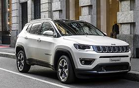 Jeep Compass conquista le cinque stelle Euro NCAP