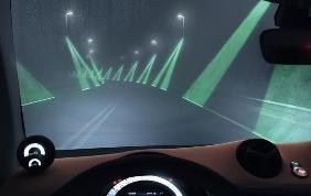 Con LaserAid puoi guidare attraverso la nebbia