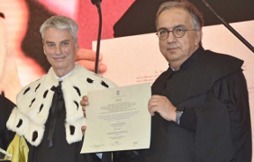 Marchionne: laurea ad honorem in ingegneria