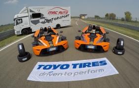 Pneumatici: l'autodromo di Modena sceglie Toyo Tires