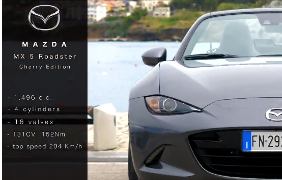 CARRUMBLE presenta: Mazda MX 5 ROADSTER (Cherry Ed.)