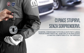 Con Mopar 'ZeroSorprese' per la manutenzione della tua auto