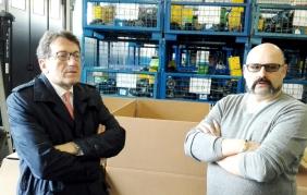 Il sindaco di Modena in visita alla EDB09