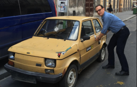 La nuova auto di Tom Hanks!