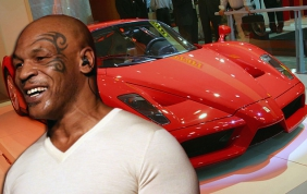 All'asta la Ferrari di Mike Tyson