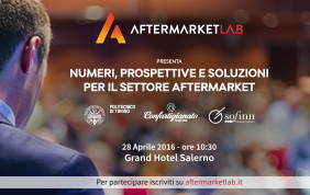Aftermarket LAB: nasce il primo laboratorio permanente di idee e soluzioni per il settore