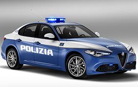 Alfa Romeo Giulia Veloce Polizia di Stato