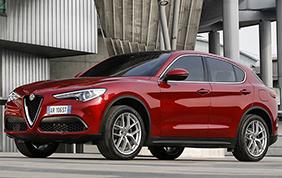 Alfa Romeo Stelvio conquista le cinque stelle Euro NCAP