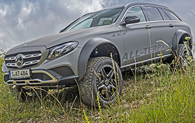 Mercedes-Benz All-Terrain 4x4 al quadrato