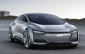 Audi Aicon: elettrica, comunicativa, futuristica