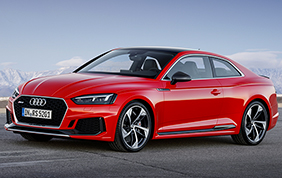 Audi RS 5 Coupé: turbo e cavalli a raffica!