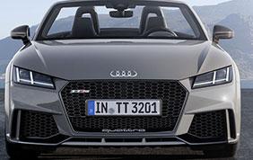 Audi TT RS: in Italia parte la prevendita