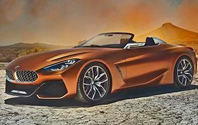 BMW Z4 Concept: a Pebble Beach una curiosa anticipazione