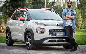 Fabio Volo sceglie la nuova Citroen C3 Aircross