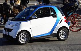 Il successo di car2go a Roma