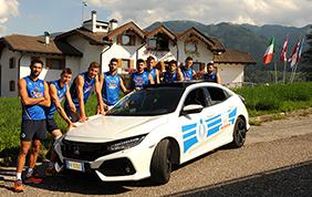 La Nazionale Italiana Volley sceglie la nuova Honda Civic