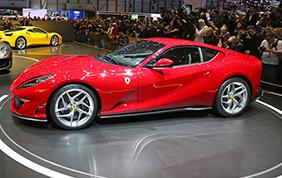Ferrari 812 Superfast: a Ginevra brilla una stella tutta Italiana