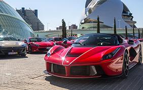 Valencia si tinge di Rosso con il Ferrari Day!