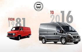 Fiat Ducato : 35 anni di successi