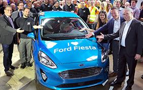 Da Colonia parte la produzione della nuova Ford Fiesta