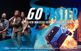 Ford presenta Go Faster: una Focus RS per un'esperienza hollywoodiana