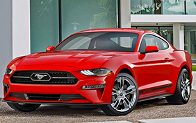 Ford Mustang Model Year 2018
