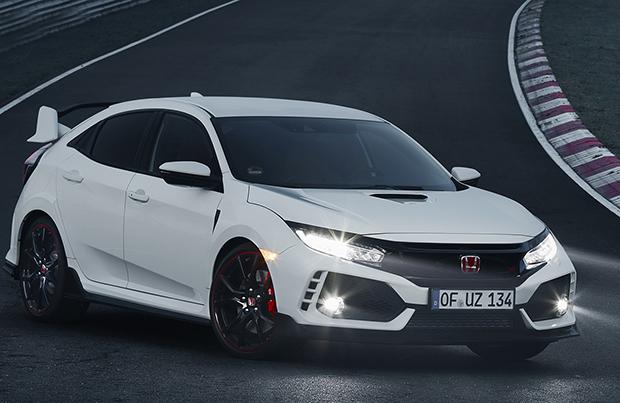 Al Nurburgring è record per la nuova Honda Civic Type R