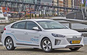 Hyundai Ioniq Electric: parte da Amsterdam l'electric car sharing