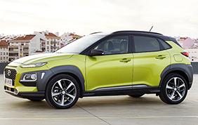 Nuova Hyundai Kona: tecnologia, connettività e carattere distintivo