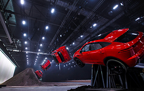 Una Jaguar E-Pace da Guinness World Record!