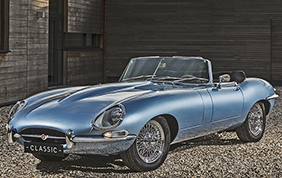 Jaguar E-Type Zero: la storia punta all'elettrico
